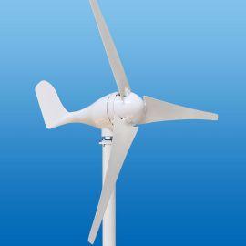 厂家直销微型照明用风力发电机三叶五叶路灯用小风力发电机