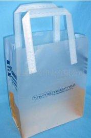厂家长期专业订做精美PVC磨砂购物袋