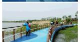 上海桓石彩色 小区娱乐广场透水地坪透水地坪透水混凝土彩色透水混凝土价格透水混凝土压印