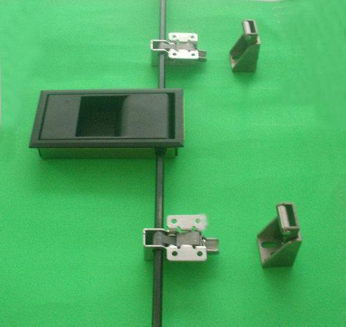 试验箱门锁拉手(HS-170-2)压缩式门把手 暗锁 试验箱横锁