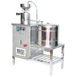 恒尔大型现磨商业商用豆浆机 快餐店豆奶机商用全自动不锈钢**