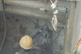 孔樁岩石破拆