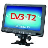 9寸車載移動電視 DVB-T2