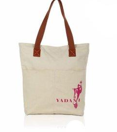專業高品質廠家生產帆布配皮高檔手袋 帆布購物袋 女士帆布手袋