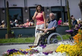 德国AAT可折叠电动轮椅SOLO
