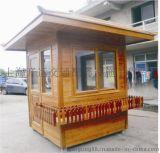 扬州防腐木岗亭, 景观亭,木屋工程, 木屋
