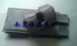 球阀隔热罩球阀节能保温套球阀可拆卸式柔性保温衣