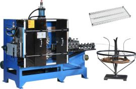 全自动液压式金属丝波浪线成型机,波浪线成型机,铁线成型机,工艺品异形线成型机,置物架波浪线成型机