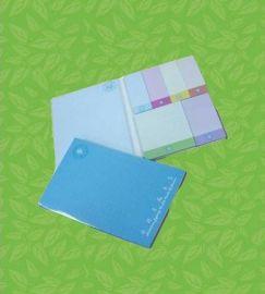 四层彩色50x76mm便条纸便利贴告示贴
