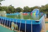 水上乐园滑梯支架水池大型充气水池滑梯组合
