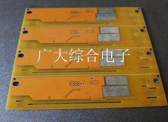 双面线路板厂家 PCB锡板打样 黄油电路板订制 深圳市广大综合电子