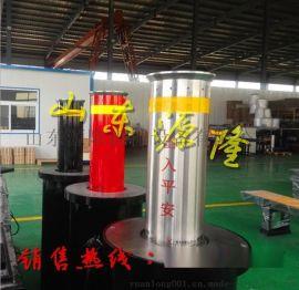 厂家直销不锈钢升降路桩 阻车防护桩 半自动液压升降柱 隔离地柱