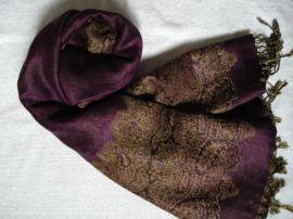 真丝绒围巾