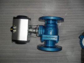 Q641F4气动衬 球阀