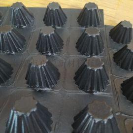 质量大全聚乙烯合肥3公分车库顶板排水板(蓄排水板)