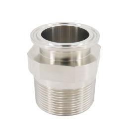 兴沃科技专业定制不锈钢卫生级螺纹转换接头/质量保障