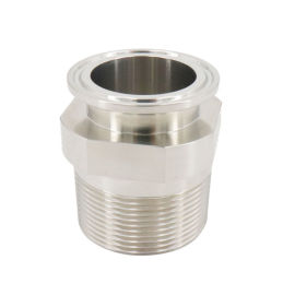 興沃科技專業定制不銹鋼衛生級螺紋轉換接頭/質量保障