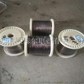 耐高温漆包康铜丝6J40 0.5mm6J40康铜丝