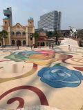昆明市彩色透水砼----透水混凝土施工步驟
