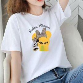 厂家直销短袖T恤女装批發地摊货源夏季韩版半袖体恤女t夜市打底衫