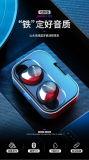 Sansui/山水X12蓝牙耳机双耳动铁无线入耳式运动高保真续航超长 招商代理