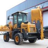 装载机改装两头忙 挖掘铲车两用设备 一机多用