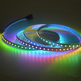 阶新XT1511MINI-60段60灯,2427RGB板宽5mm数码灯带