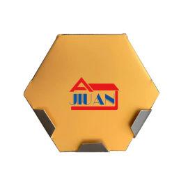 菱形六边形铝镁锰材质屋面平锁扣