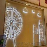 德普龍仿木紋鋁窗花升級版,花格造型鋁窗花防盜窗