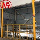 围网升降货梯 宁瑞导轨货梯 现场安装举升货梯