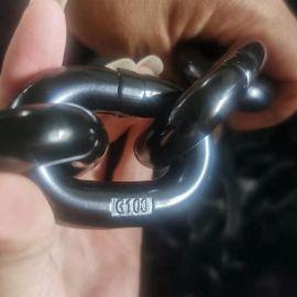 鲁兴G100级起重链条 圆环链条 吊装链 生产厂家