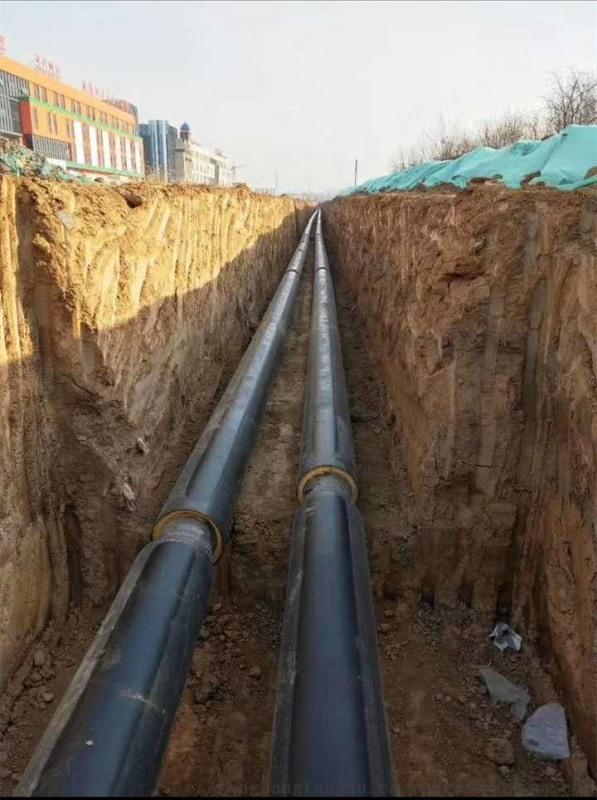 河南预制聚氨酯保温管,预制热水保温管