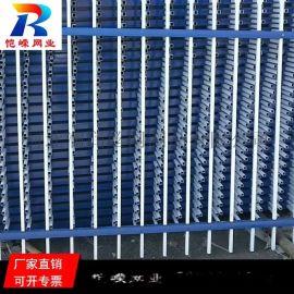 杭州三横梁锌钢护栏 庭院别墅学校锌钢围墙护栏