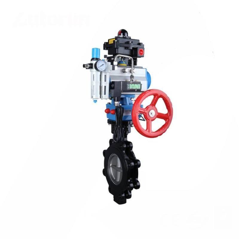 進口氣動調節蝶閥-防爆型-單動式-雙動式