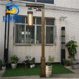 明清古典單頭庭院燈定製電鍍雲石景觀系列