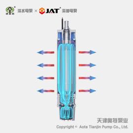 304卧式潜水电机, 不锈钢电动机, 定制型电动马达