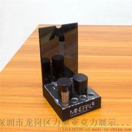 定制可回收材料高品质亚克力化妆品展示架