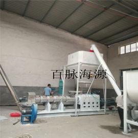 PHJ120预糊化淀粉膨化线洁净型煤粘合剂玉米淀粉