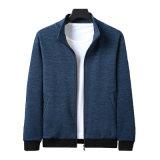 新款休閒時尚夾克男衛衣 加厚立領外套 修身青年外套