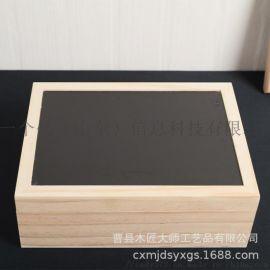 白酒翻盖式包装礼盒双支装酒包装盒子