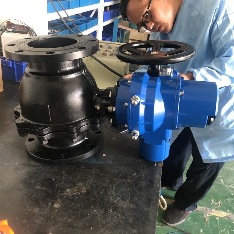贝尔厂家直销Q941F-16智能一体化电动球阀