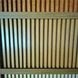臥室木紋鋁材長城板 牀頭背景牆復古鋁長城板