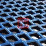 防腐耐用浸塑钢板网  窗户防盗菱形孔网