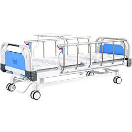两功能手摇护理疗养床 手动病床