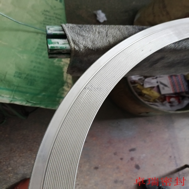 304不锈钢齿形垫片 金属齿形垫片 活动外环金属齿形垫片报价 卓瑞