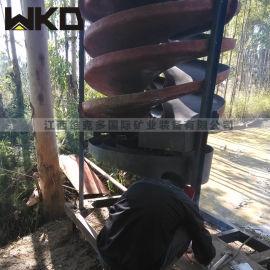 山西玻璃钢螺旋溜槽 1500型煤矸石溜槽 旋转溜槽