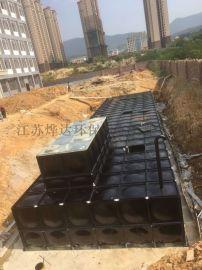 一体化消防给水泵站 流量计安装