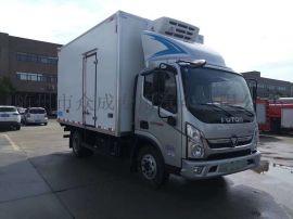 国六福田冷藏车厂家直销可分期