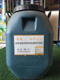 污水厂环氧改性硅氧烷高性能防腐防水涂料