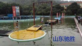 山东驰胜户外拓展组合滑梯大型水上游乐设施设计